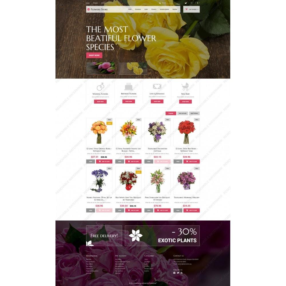 theme - Cadeaux, Fleurs et Fêtes - Fleurs pour des occasions spéciales - 3