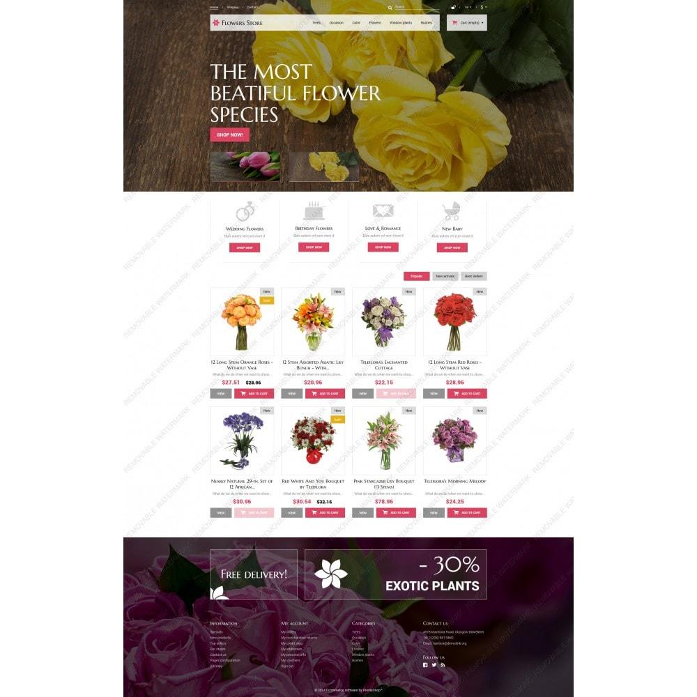 theme - Cadeaux, Fleurs et Fêtes - Fleurs pour des occasions spéciales - 5