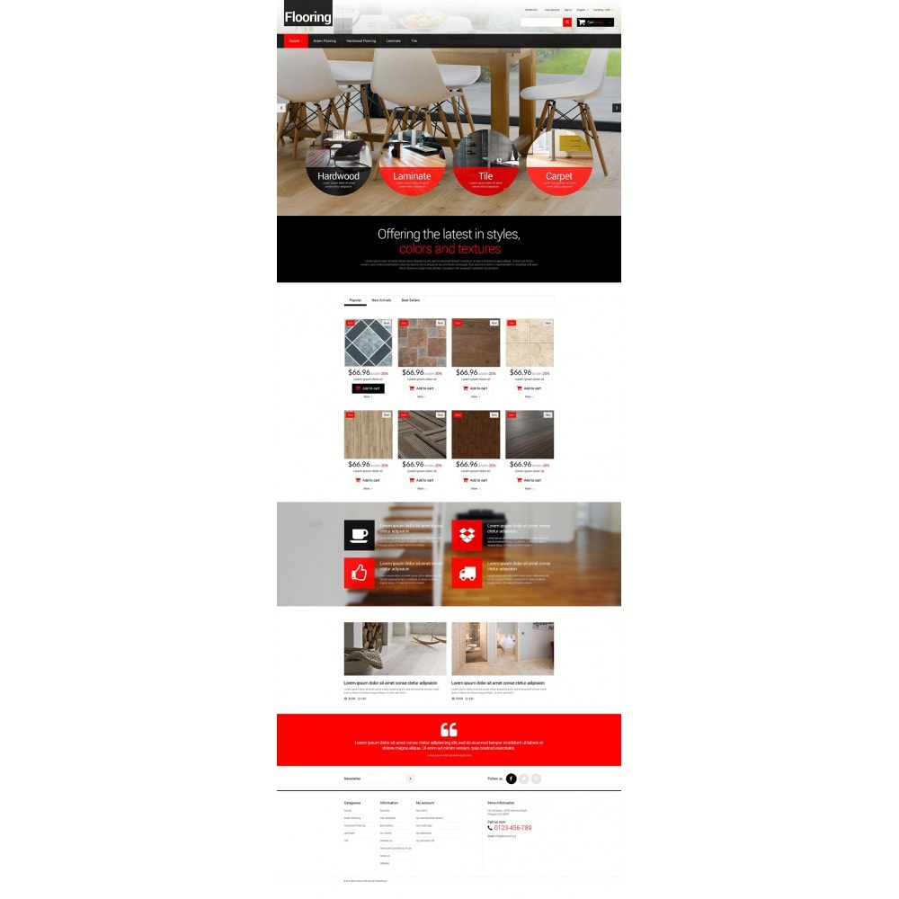 theme - Arte & Cultura - Flooring for Homes - 2