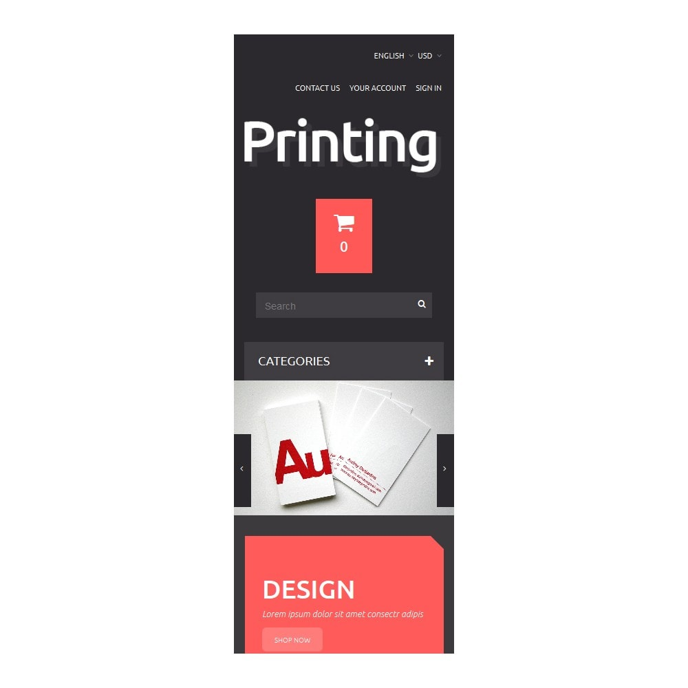 theme - Arte & Cultura - Printing Solutions - 9