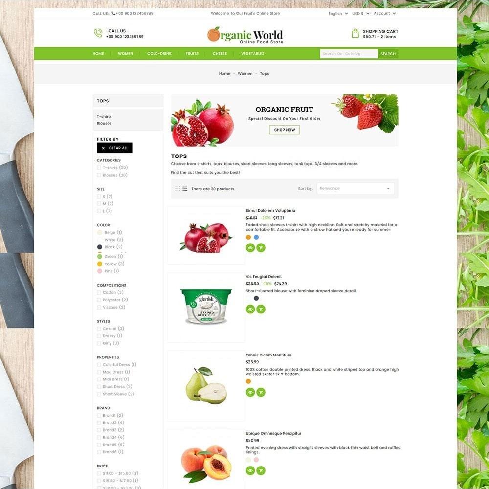 theme - Food & Restaurant - Organic World Food Store - 4