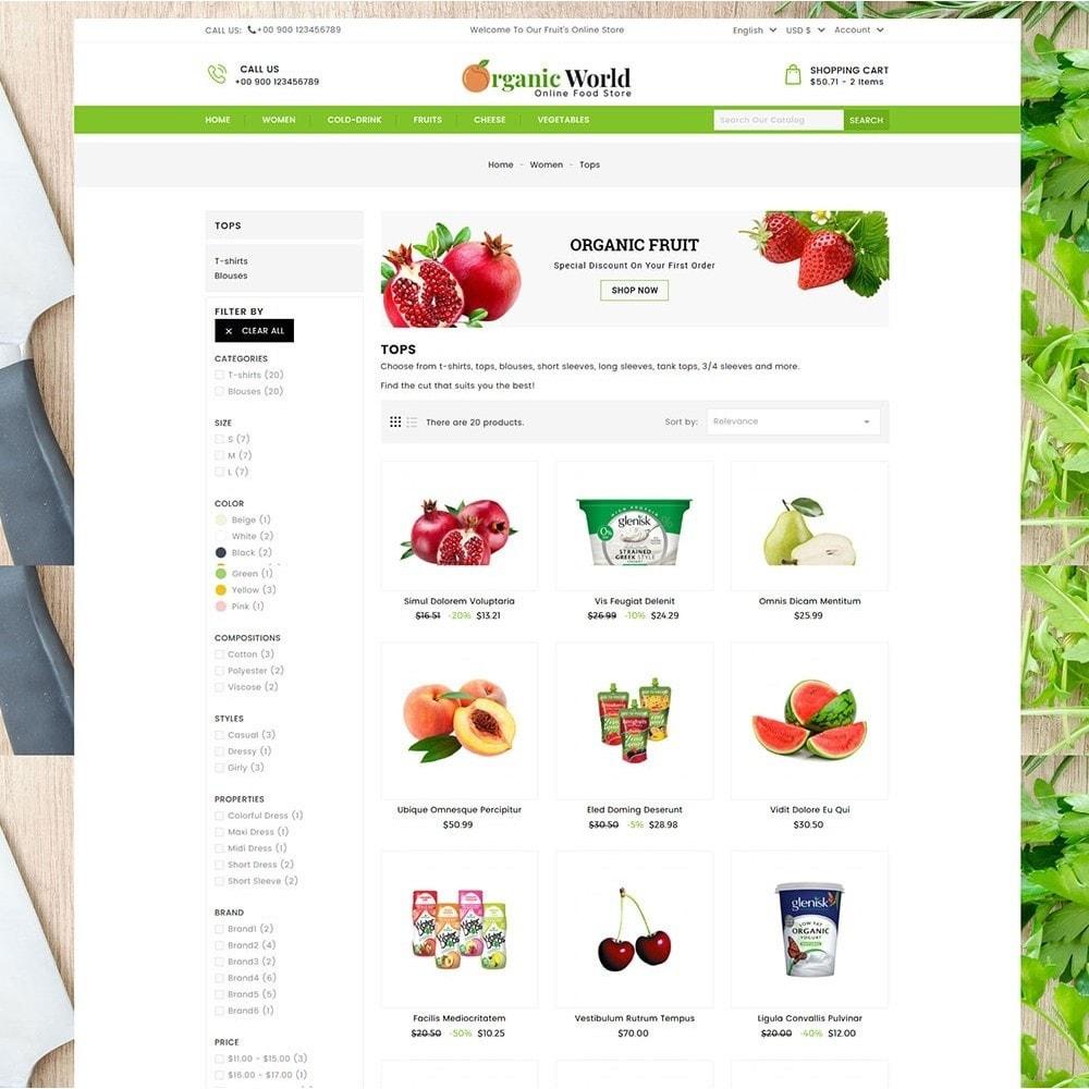 theme - Food & Restaurant - Organic World Food Store - 5