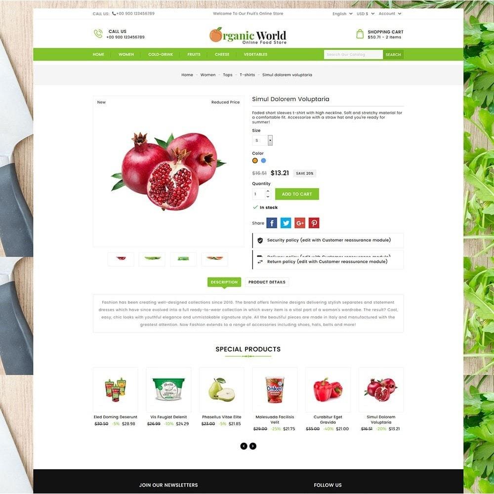 theme - Food & Restaurant - Organic World Food Store - 6