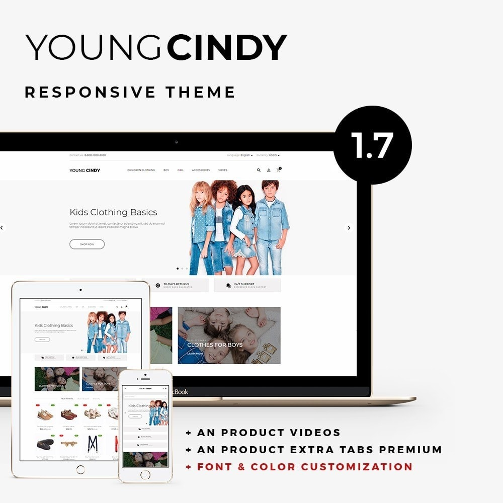 theme - Kids & Toys - Young Cindy - 1