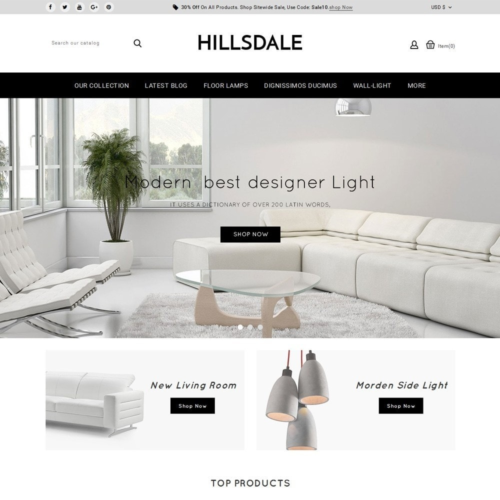 theme - Huis & Buitenleven - Hillsdale - The Furniture Mart - 2