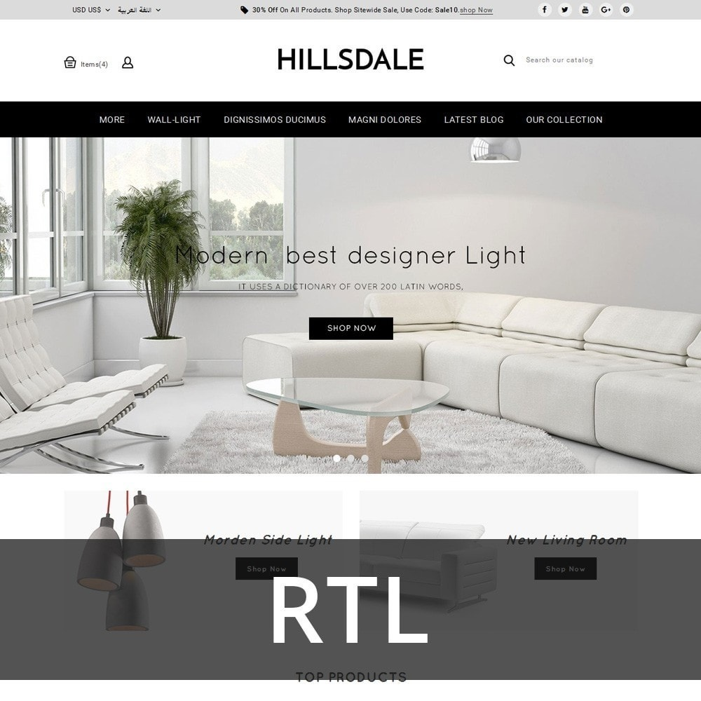 theme - Huis & Buitenleven - Hillsdale - The Furniture Mart - 3