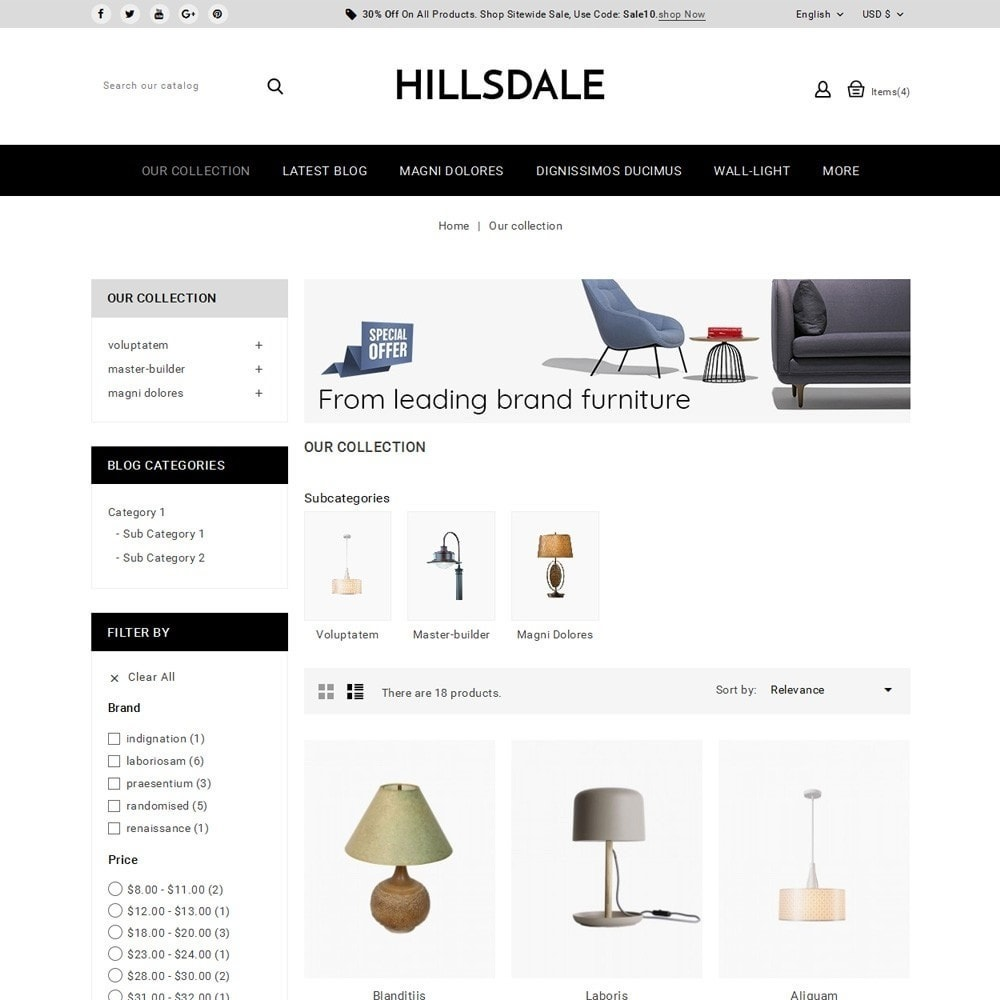 theme - Huis & Buitenleven - Hillsdale - The Furniture Mart - 4