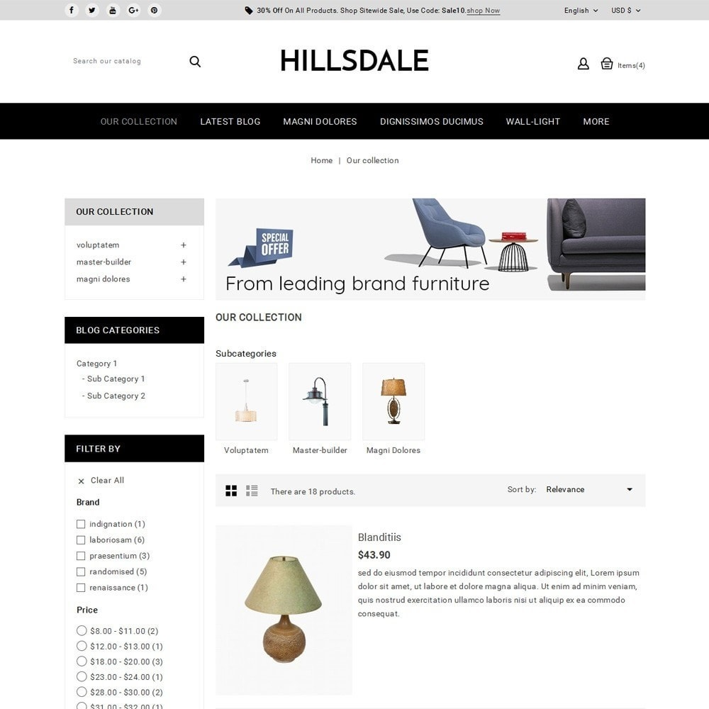 theme - Huis & Buitenleven - Hillsdale - The Furniture Mart - 5