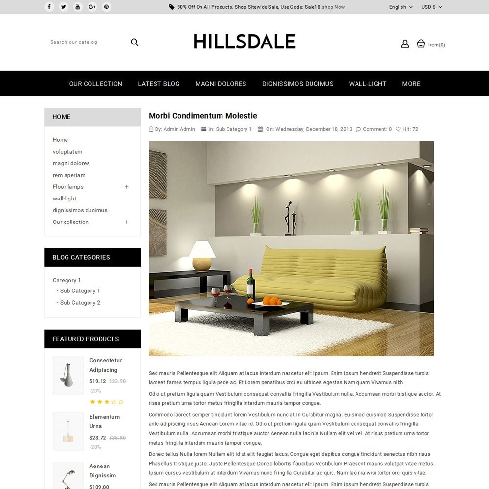 theme - Huis & Buitenleven - Hillsdale - The Furniture Mart - 7