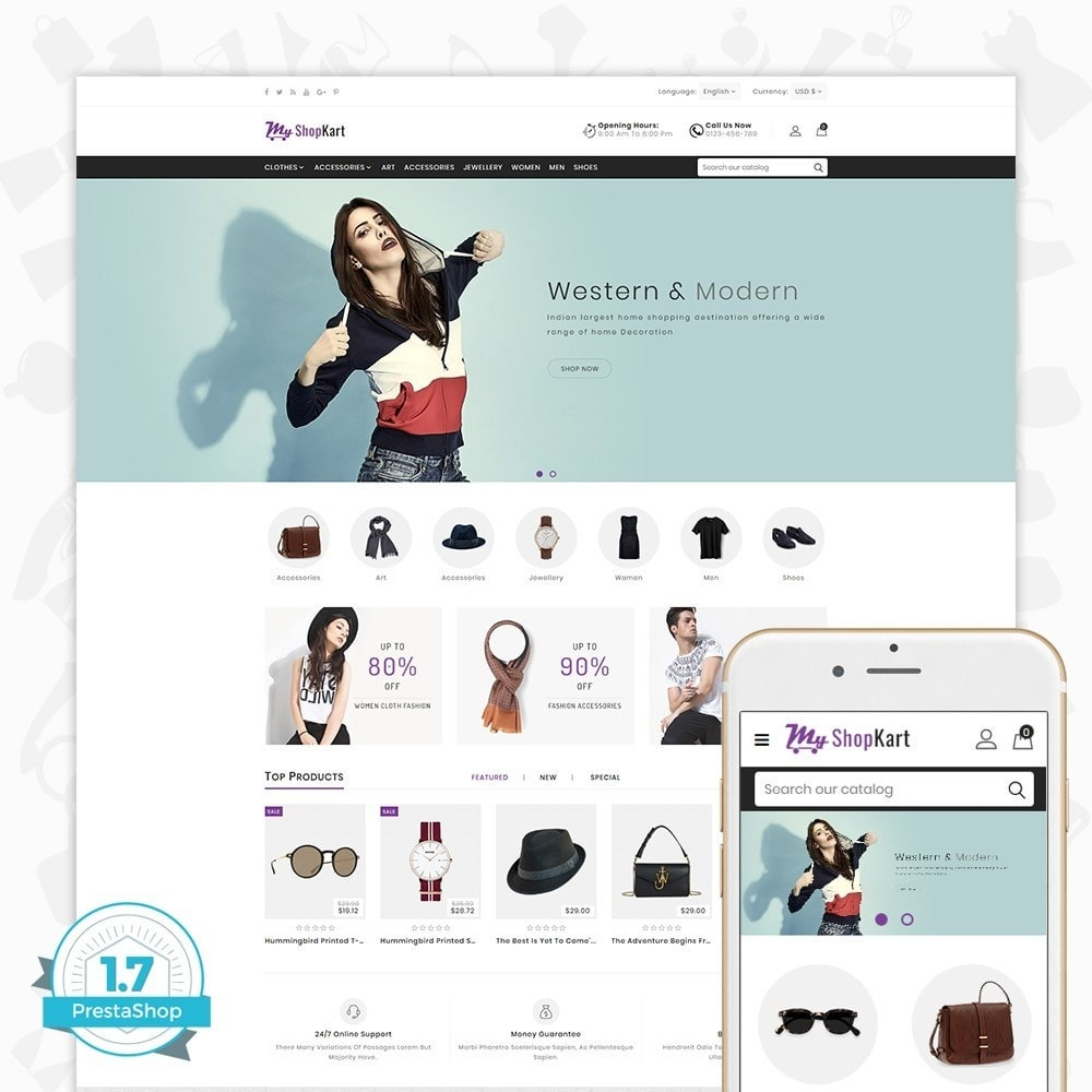 theme - Moda & Calçados - MyShopKart - The Shopping Mall - 1