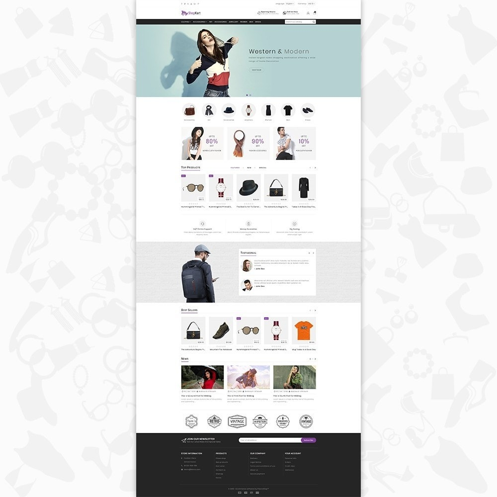 theme - Moda & Calçados - MyShopKart - The Shopping Mall - 2