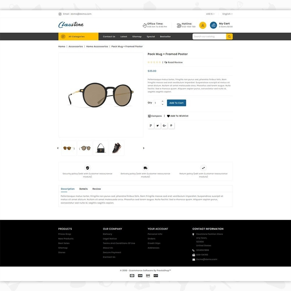 theme - Mode & Schoenen - Clausestore - The Fashion Template - 5