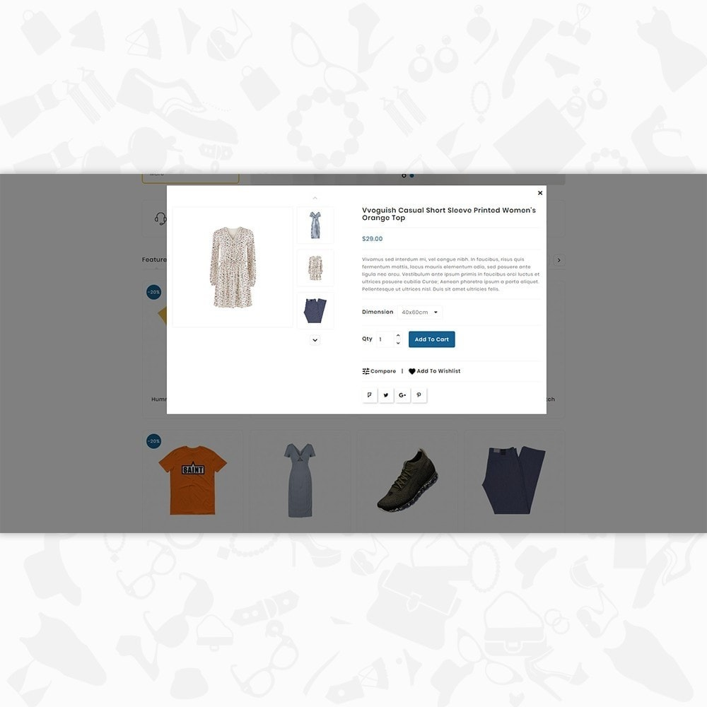 theme - Mode & Schoenen - Clausestore - The Fashion Template - 7