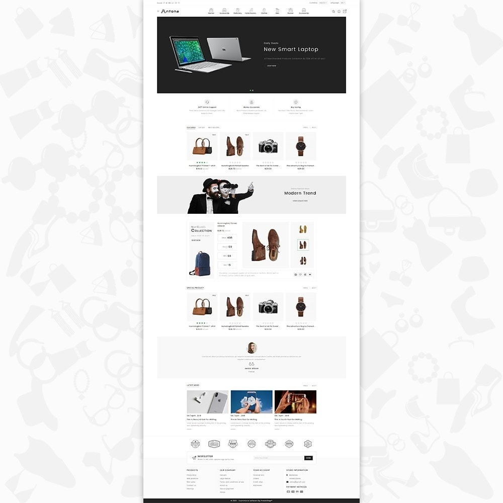 theme - Moda & Calzature - Antona - The Fashion Store - 2