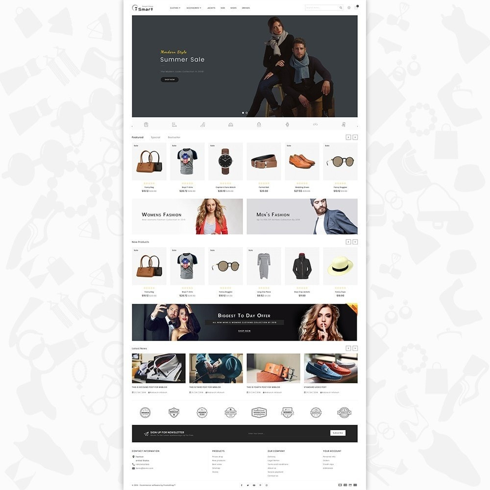 theme - Moda & Calzature - 7 Smart  - The Smart Store - 2