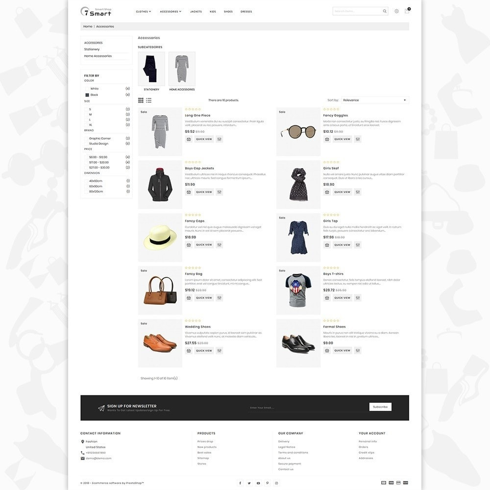 theme - Moda & Calzature - 7 Smart  - The Smart Store - 4