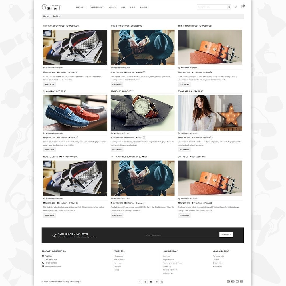 theme - Moda & Calzature - 7 Smart  - The Smart Store - 6