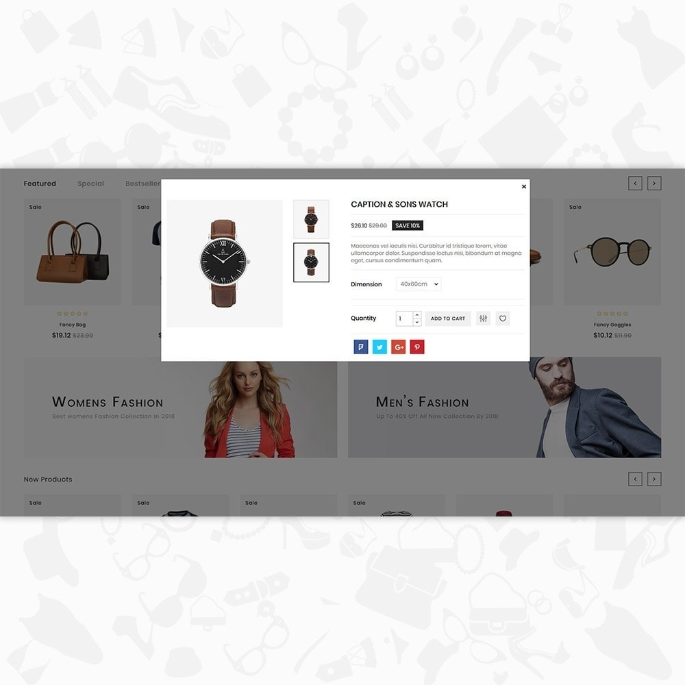 theme - Moda & Calzature - 7 Smart  - The Smart Store - 7