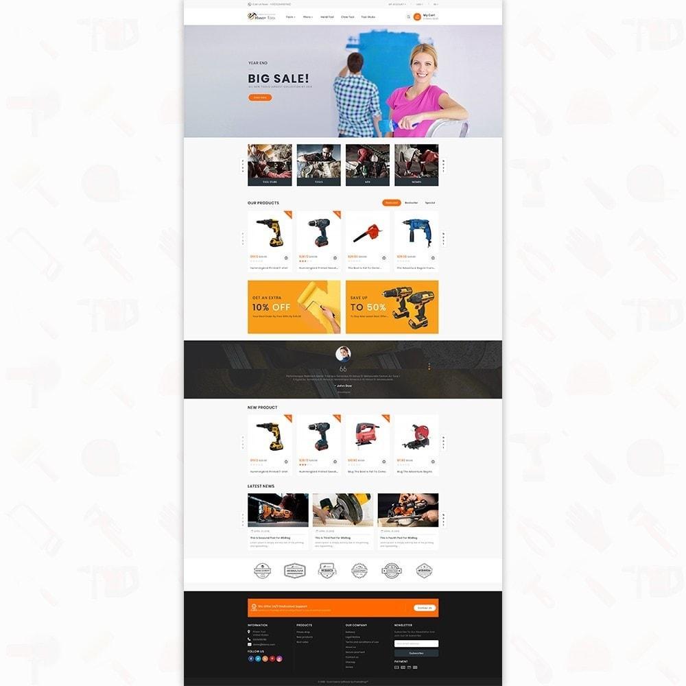 theme - Auto & Moto - Handi Tool - Powertool Shop - 2