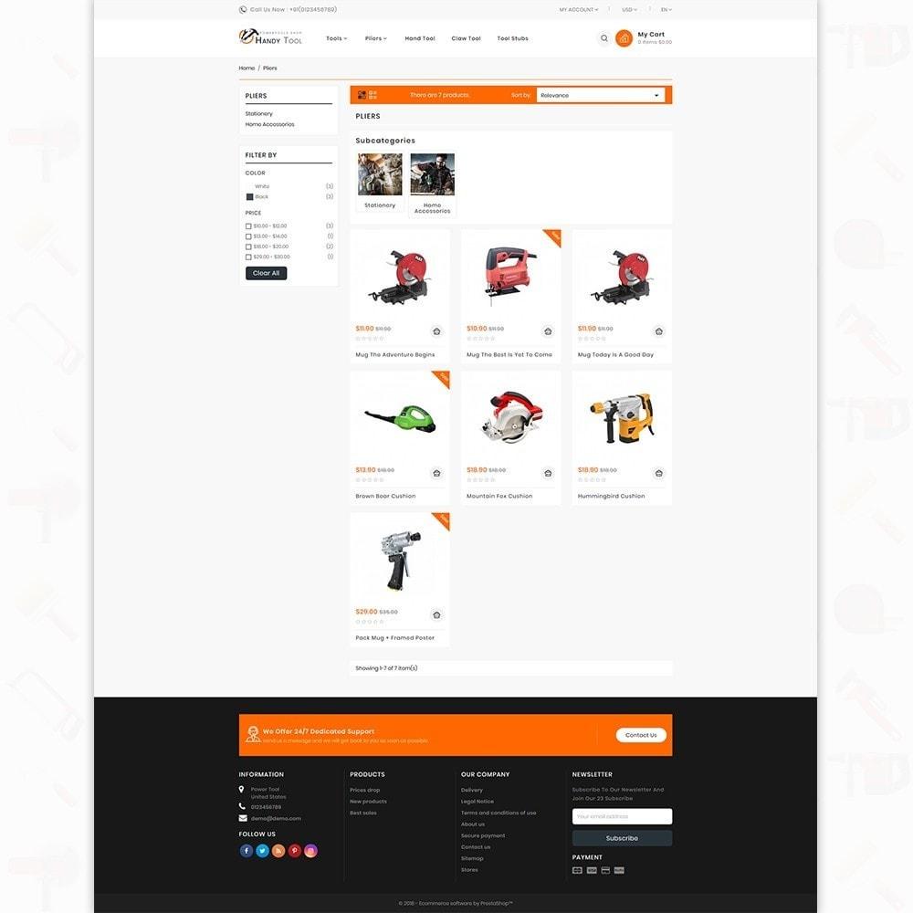 theme - Auto & Moto - Handi Tool - Powertool Shop - 3