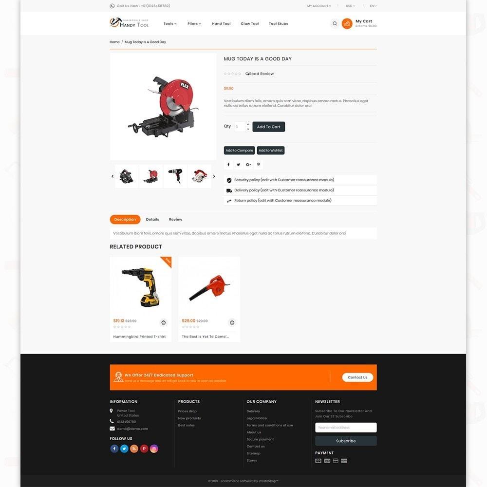 theme - Auto & Moto - Handi Tool - Powertool Shop - 4