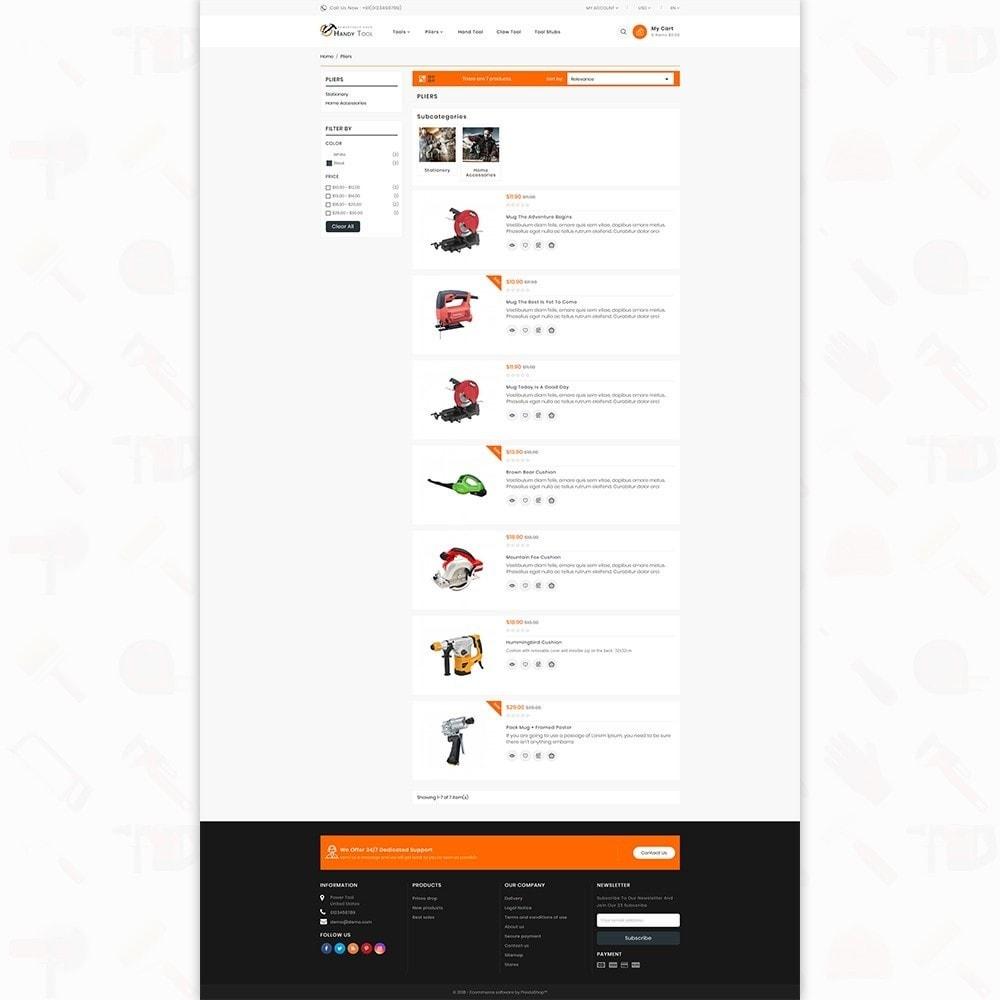 theme - Auto & Moto - Handi Tool - Powertool Shop - 5