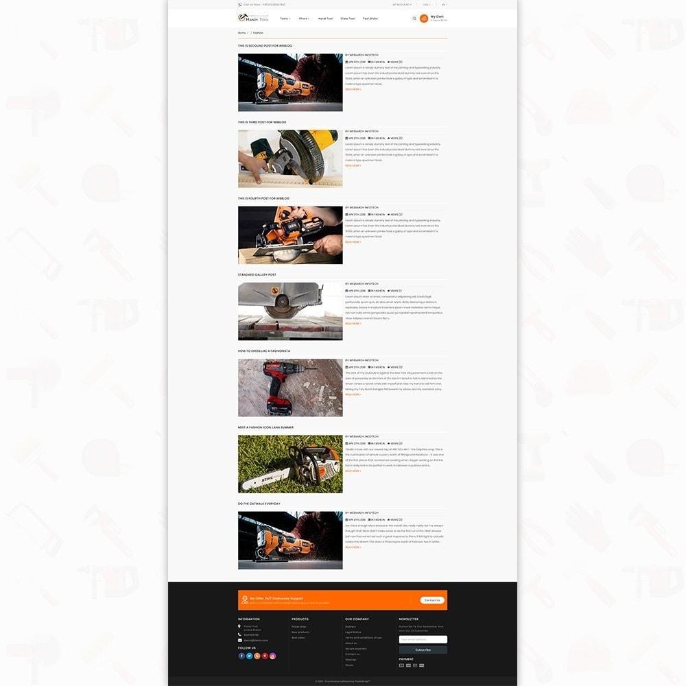 theme - Auto & Moto - Handi Tool - Powertool Shop - 6