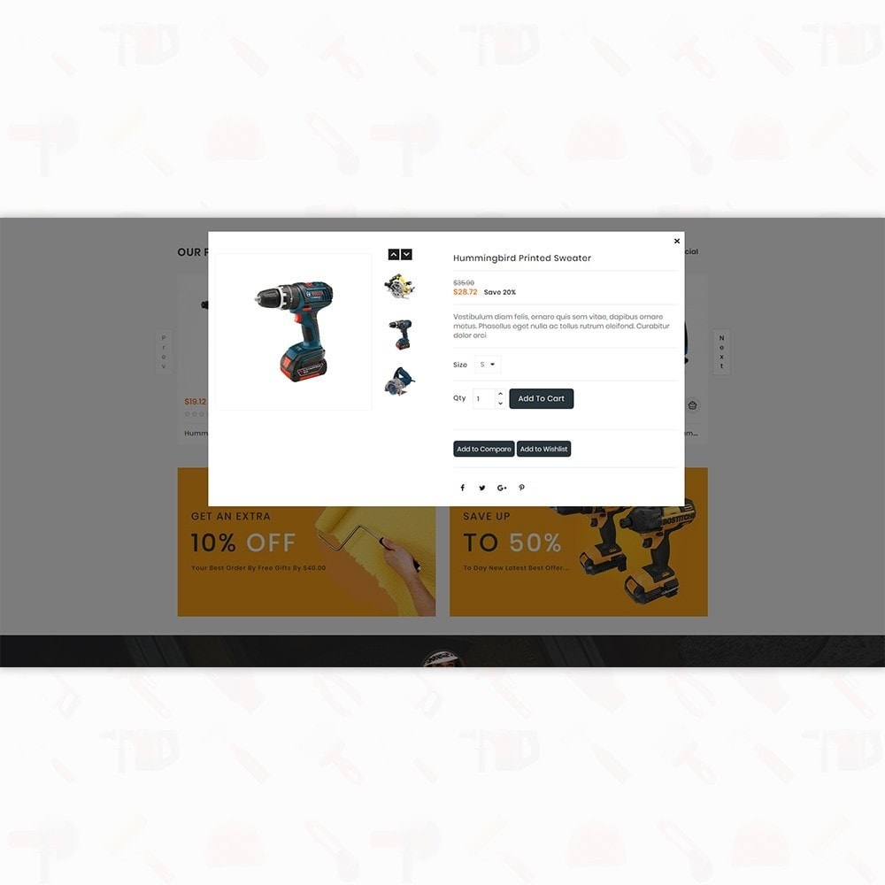theme - Auto & Moto - Handi Tool - Powertool Shop - 7