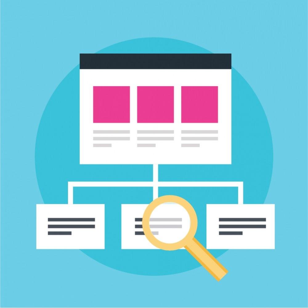 module - SEO (Pozycjonowanie naturalne) - Generator mapy witryny dla SEO (XML i HTML) - 1