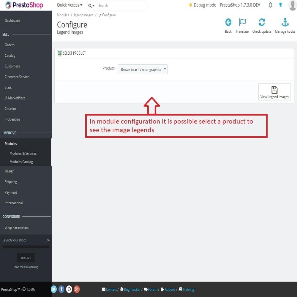 module - SEO (Posicionamiento en buscadores) - Leyenda o subtítilo para las imágenes del producto - 1