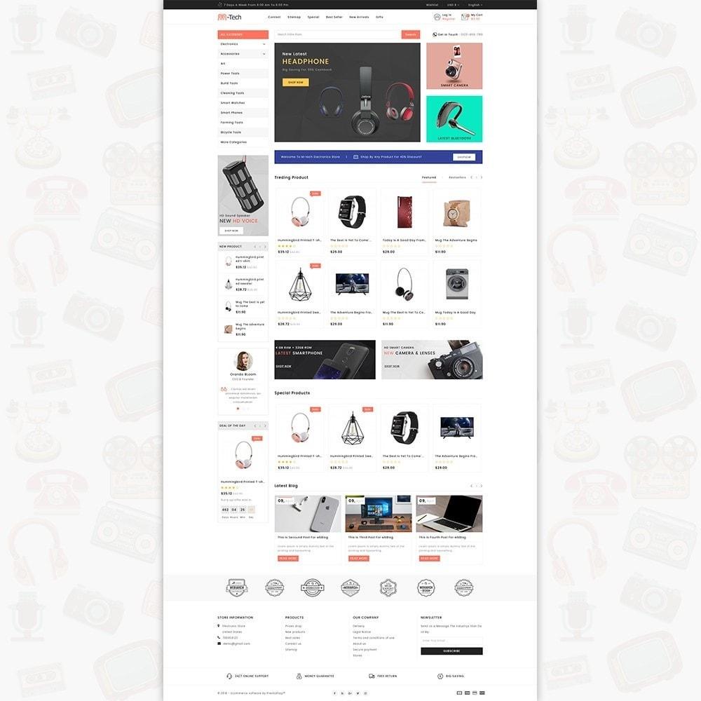 theme - Электроника и компьютеры - M-Tech- The Online Shopping - 2