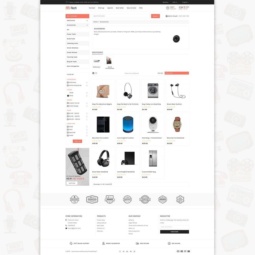 theme - Электроника и компьютеры - M-Tech- The Online Shopping - 3