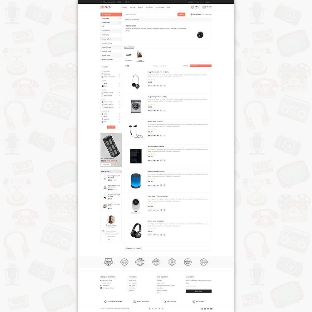 theme - Электроника и компьютеры - M-Tech- The Online Shopping - 4