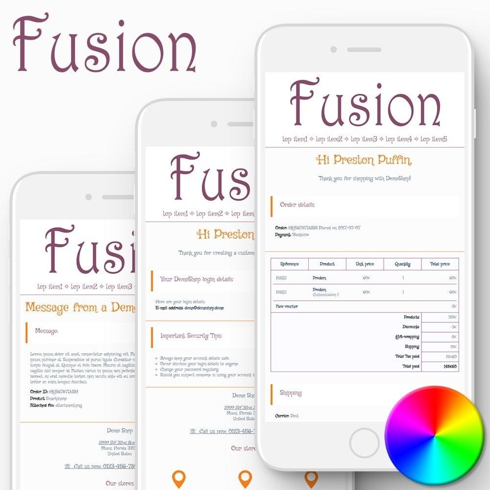 email - Modelos de e-mails da PrestaShop - Fusion - Email templates - 1