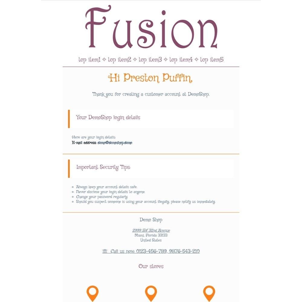 email - Modelos de e-mails da PrestaShop - Fusion - Email templates - 2