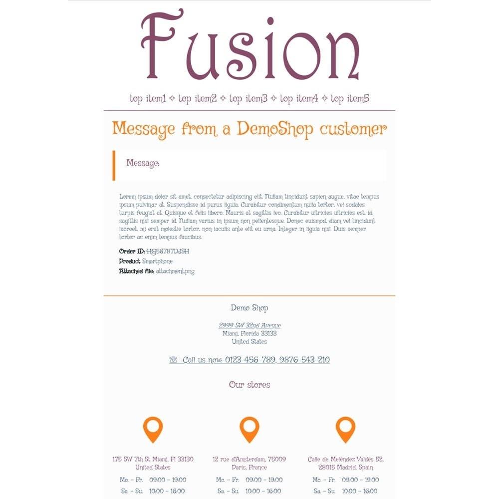 email - Modelos de e-mails da PrestaShop - Fusion - Email templates - 3