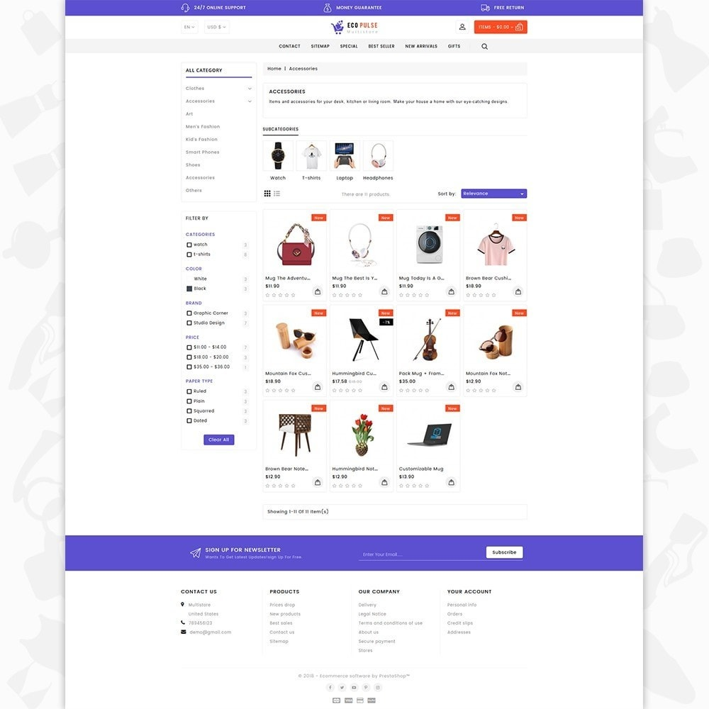 theme - Elettronica & High Tech - EcoPulse - The Online Shopping - 3