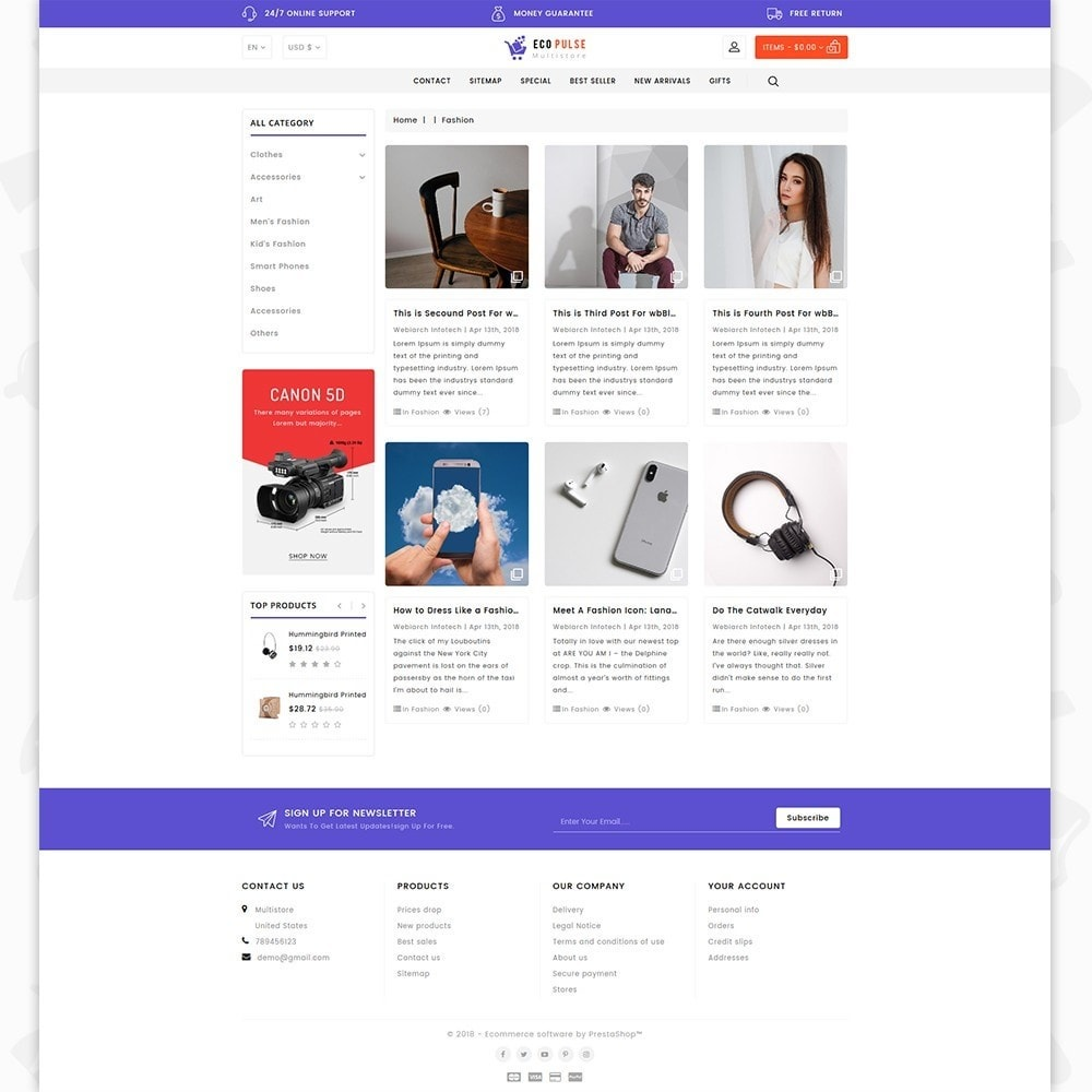 theme - Elettronica & High Tech - EcoPulse - The Online Shopping - 6