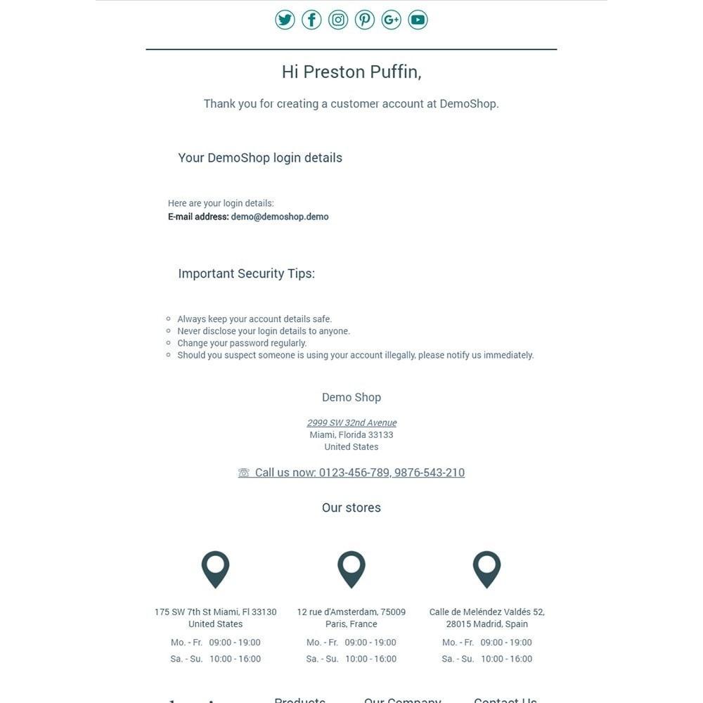 email - Modelos de e-mails da PrestaShop - Classics - Email templates - 2