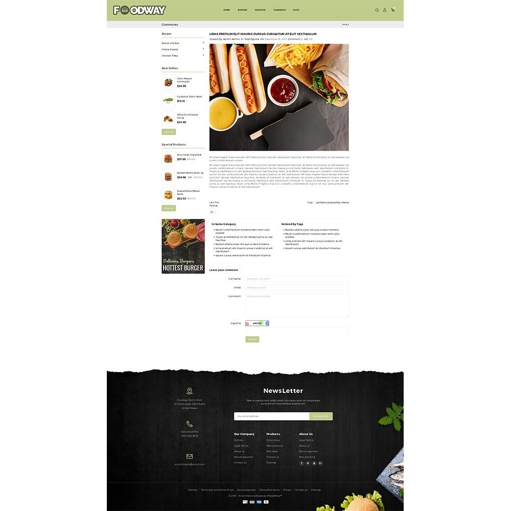 theme - Food & Restaurant - Foodway Demo Store - 8