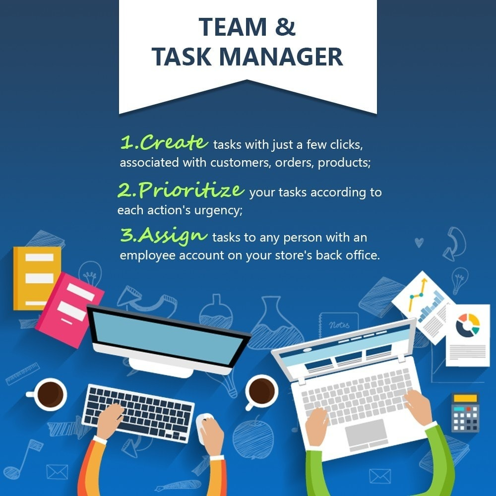 module - Outils d'administration - Team & Task Manager - 1