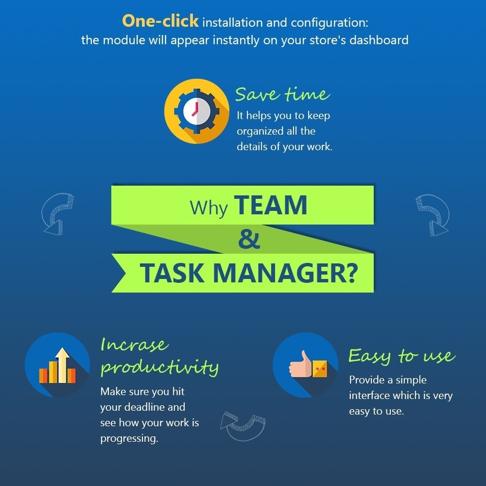 module - Outils d'administration - Team & Task Manager - 3