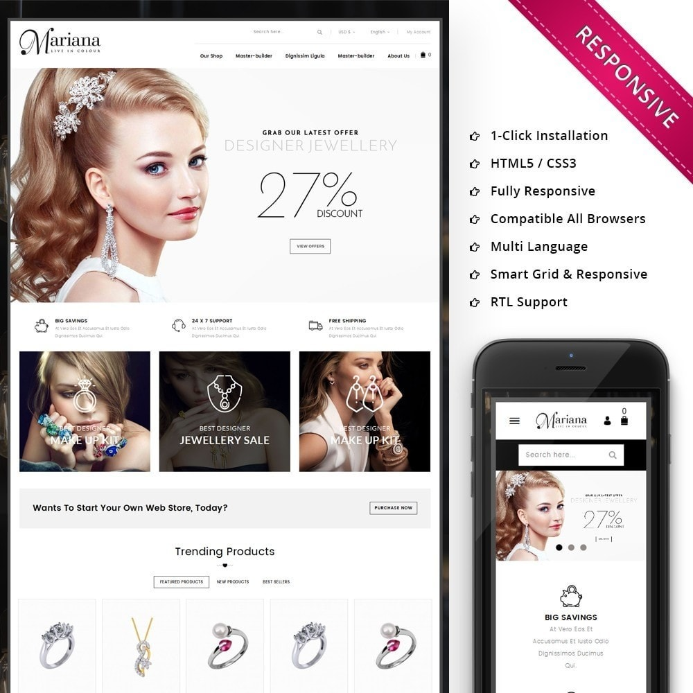 theme - Sieraden & Accessoires - Mariana - The Jewelry Store - 1