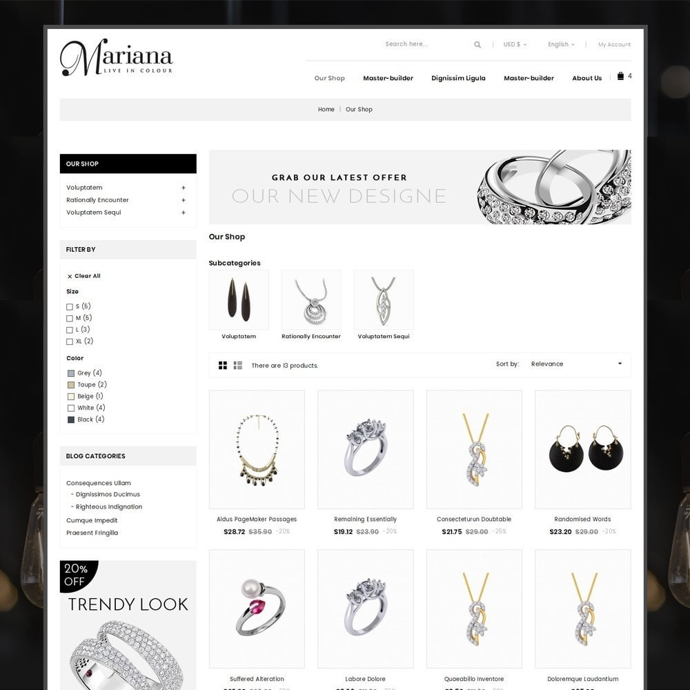 theme - Bijoux & Accessoires - Mariana - The Jewelry Store - 4
