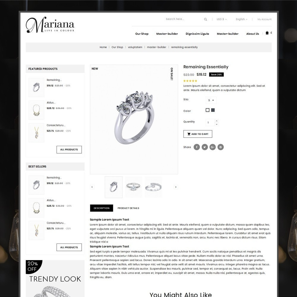theme - Bijoux & Accessoires - Mariana - The Jewelry Store - 6