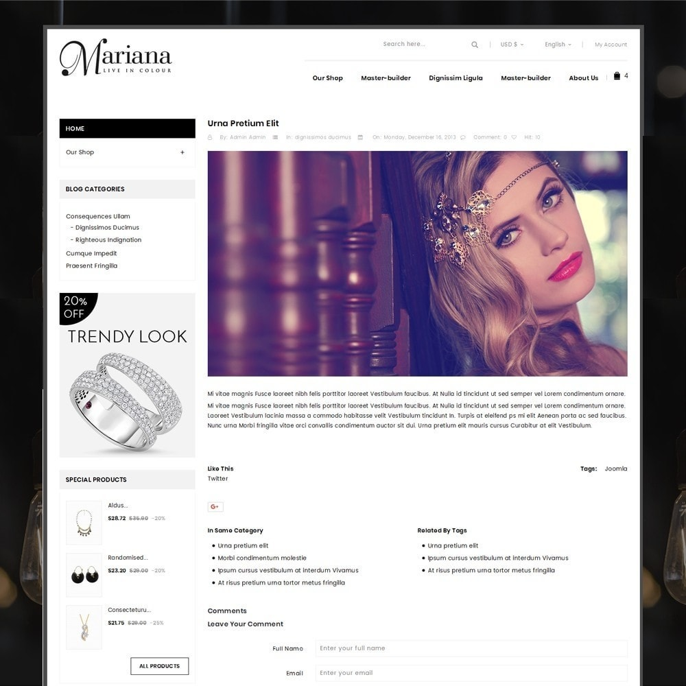 theme - Bijoux & Accessoires - Mariana - The Jewelry Store - 7