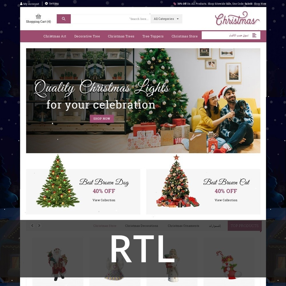 theme - Cadeaus, Bloemen & Gelegenheden - Christmas - The Gift Shop - 3