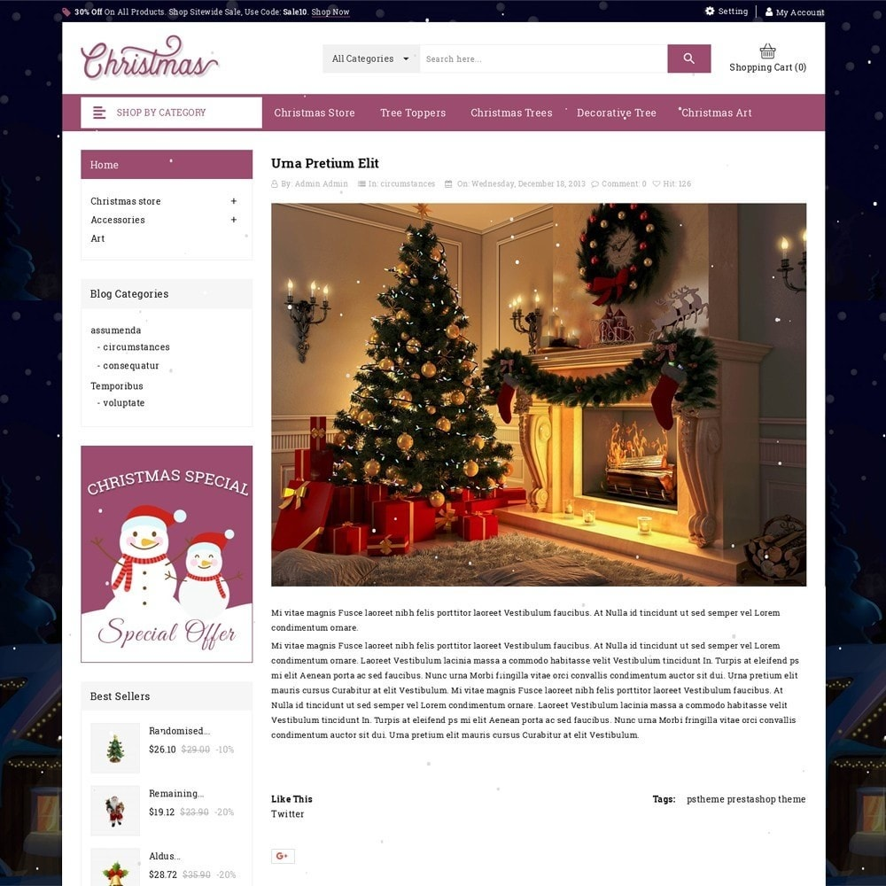 theme - Cadeaus, Bloemen & Gelegenheden - Christmas - The Gift Shop - 7