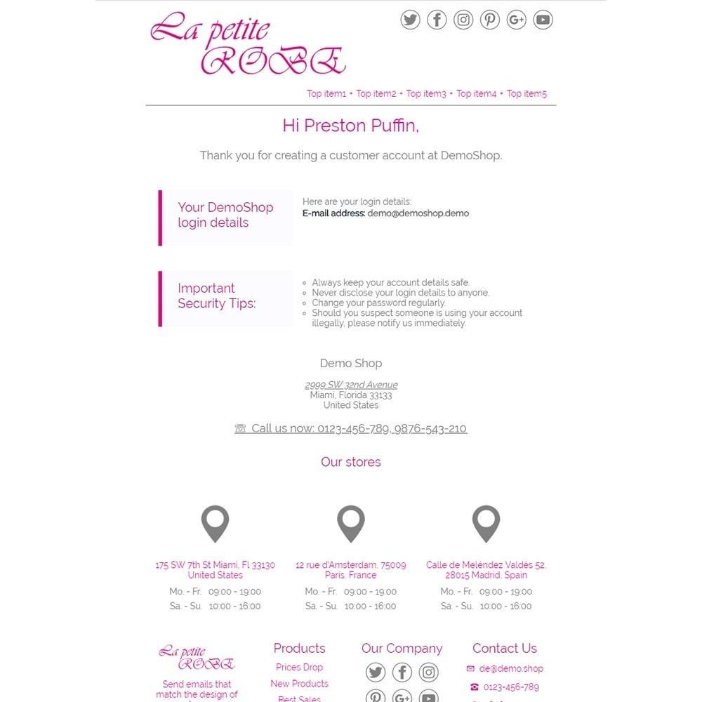 email - PrestaShop-E-Mail-Vorlagen - La Petite Robe - Email templates - 2
