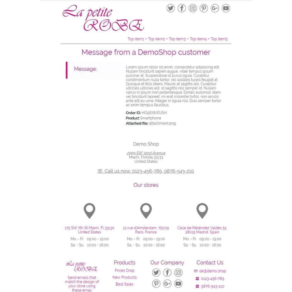 email - PrestaShop-E-Mail-Vorlagen - La Petite Robe - Email templates - 3